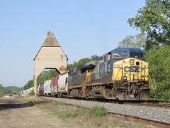 CSX / Pere Marquette (codeeightythree) Tags: csx newbuffalo newbuffalomichigan michigan coaltower chessiesysystem peremarquette manifestfreight freight train railroad railroading