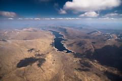 Loch Cluanie (Kieran Campbell) Tags: loch flying aerial scotland paragliding highlands cluanie alba
