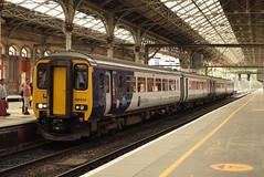 NT 156420 and 156xxx @ Preston train station (ianjpoole) Tags: northern rail class156 super sprinter 156420 1564xx working 1c51 manchester aiport barrowinfurness