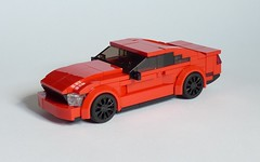 2018 Ford Mustang GT (MOCs & Stuff) Tags: lego city town ford mustang gt 2018