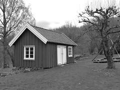 Kolebacka north of Kungälv 2018 (biketommy999) Tags: kungälv kolebacka bohuslän 2018 svartvitt blackandwhite sverige sweden biketommy biketommy999 torp kulturminne bondgård
