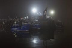 reflecting the fleet (stocks photography.) Tags: michaelmarsh whitstable photographer harbour fishing trawler coast beach seaside