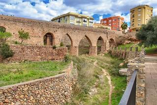 Acueducto y Acéquia Medieval de L'Alcúdia. Vall d'Uixo, Castellón, Spain.