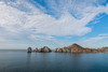 Cirrus Clouds Over Land's End, Cabo San Lucas (Jill Clardy) Tags: 2018 cruise ncl norwegiancruiselines repositioning 201804239l8a3890 cabo san lucas sirrus clouds cloudy arch cliffs hills harbor mexico ship lands end island isle cirrus