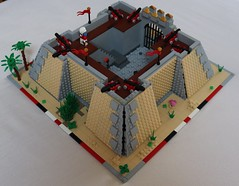 Fort WIP 2 (spud_the_viking) Tags: lego fort fortress star moc custom wip redcoats corrington