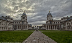 Old Royal Naval College and Painted Hall area (Alaskan Dude) Tags: travel europe england london greenwich canarywharf architecture cityscape buildings art