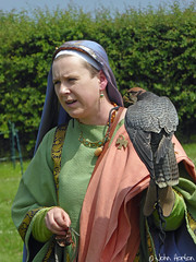 A day out at - Viroconium 002 (Row 17) Tags: england shropshire viroconium wroxeter people woman women falcon falconry falconer reenactment reenactor reenactors historicsite heritagesite heritage historic englishheritage