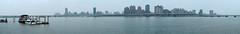 panorama view@DaDaoCheng(大稻埕碼頭), Taipei (Amselchen) Tags: panorama taipei taiwan river tamsuiriver travel trip fujifilm fujinon xt2 xf35mmf14r