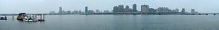 panorama view@DaDaoCheng(大稻埕碼頭), Taipei