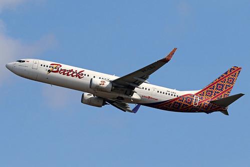 PK-LBJ Boeing 737-9GP/ER Batik Air cn 38742/4726