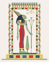 Neith illustration from Pantheon Egyptien (1823-1825) by Leon Jean Joseph Dubois (1780-1846). Digitally enhanced by rawpixel. (Free Public Domain Illustrations by rawpixel) Tags: egyptian god otherkeywords antique cc0 creatorgoddess crossedarrow dubois egypt godofegypt goddess huntergoddess illustration ljjdubois leonjeanjosephdubois mythological name neith pantheon pantheonegyptien sais vintage