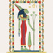 Neith illustration from Pantheon Egyptien (1823-1825) by Leon Jean Joseph Dubois (1780-1846). Digitally enhanced by rawpixel.