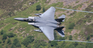 F-15E Strike Eagle Low Level in Wales