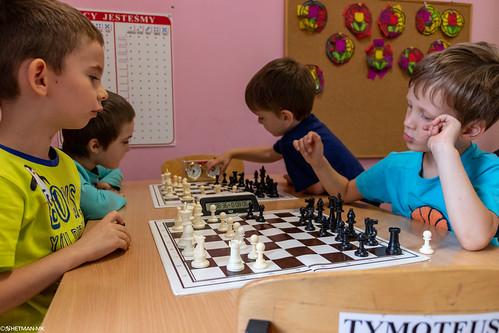 VIII Turniej Szachowy o Mistrzostwo Przedszkola Europejska Akademia Dziecka-12