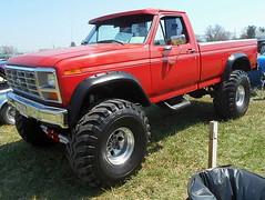 1986 Ford F-150 4x4 (splattergraphics) Tags: 1986 ford f150 4x4 pickup truck custom carshow romancingthechrome jarrettsvillemd