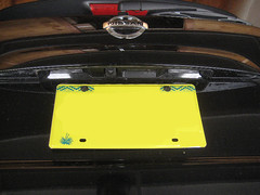 2015-2018 Nissan Murano License Plate Lights - Changing Burnt Out Light Bulbs In Tailgate Door (paul79uf) Tags: 2015 2016 2017 2018 nissan murano license plate light bulb bulbs lamp led upgrade tailgate door cargo area remove removal removing install installing installation guide how diy do it yourself steps directions part number