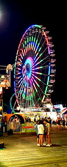 New Ferris Wheel (SurFeRGiRL30) Tags: ferriswheel seasideheightsnj boardwalk casinopier ride memorialdayweekend beautiful litup awesome circle people