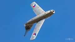 MiG-15UTI (Michał Banach) Tags: aerofestival canon eppo mig15uti poland poznań poznańairshow poznańairshow2018 sigma150600f563dgoshsmsports aircraft airplane airshow aviation flyhigh jet wielkopolskie pl