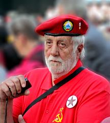 Veteran of World War II (BockoPix) Tags: veterans world war ii rdeča zvezda red star ljubljana slovenia portrait nosil bom concert music