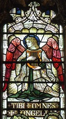 Sheffield - Ecclesfield, St Mary's Church - Stained Glass (Glass Angel) Tags: sheffield ecclesfield stmaryschurch stainedglass southyorkshire