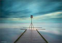 The Jetty Marker (Phil Durkin) Tags: dusk england lancashire lytham northwest still sunset surreal uk balanced boardwalk calming cloud cloudscape coast coastline equal even hightide jetty jettymarker lines nopeople peaceful pier relaxing serene submerged symmetrical symmetry tidal tide tranquil tranquillity underwater