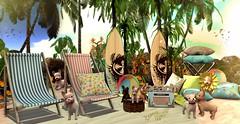 POST ★☆ 1K289 ★☆ (♕ Xaveco Mania - Jhess Yoshida ♕) Tags: peaches yourdreams zencreations focusposes whimsical secondlifeblog secondlifephotography secondlife event deco summer beach