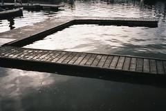 Floating Harbour jetty (knautia) Tags: bristol england uk may 2018 film ishootfilm olympus xa2 fuji superia 400iso olympusxa2 nxa2roll17 floatingharbour jetty commute commuting
