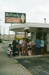 Mr. Frosty (Travis Estell) Tags: canonae1 franklin kodakportra400 mrfrosty ohio ohioonfilm portra400 thedarkroomlab warrencounty creamywhip film unitedstates us