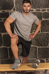 Model Dimi Bozinovski (Joe Eisel) Tags: columbus ohio usa portrait male man fit fitness beard tamronsp70200mmf28divcusd dimitar body builder bodybuilder