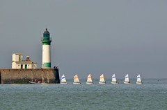 Mers-les-Bains/Le Tréport 28 May 2018 005 (paul_appleyard) Tags: tréport merslesbains sea sails sailing school lighthouse france somme may 2018 seinemaritime