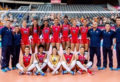 "Selección Femenina de Voleibol de la República Dominicana • <a style=""font-size:0.8em;"" href=""http://www.flickr.com/photos/143921865@N05/27751527267/"" target=""_blank"">View on Flickr</a>"