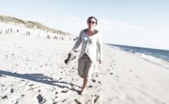 LifeStyle SYLT (PHOTOGRAPHY Toporowski) Tags: sylt meer ocean frau woman sun sonnenuntergang sunset mensch strand abend