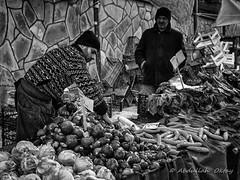 Street 539 (`ARroWCoLT) Tags: streetphotography bazaar openairmarket sokak people blackwhite bw art insan human arrowcolt monochrome bnwdemand bnwpeople bnw bnwstreet ishootpeople blackandwhite outdoor portrait streetportrait nx300 30mm acıbadem turkey türkiye turnip carrot turp havuç