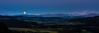 Moonshine - Emmental (uhu's pics) Tags: landscape landschaft nature outdoor panorama xf35mmf2 fujinon fujifilm fuji shine moonshine light switzerland alps mountains hills valley evening full moon dämmerung leuchten scheinen mondschein licht schweiz emmental rüderswil alpen berge hügel tal abend vollmond mond mondaufgang moonrise