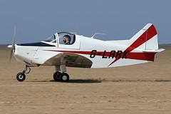 G-LARK (QSY on-route) Tags: glark lancashire landing 2018 fly in knott end beach airfield 09062018