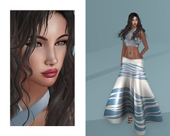 Smooth Sailor (Francesca Balogh) Tags: dazzle facepaint monso collabor88 catwa arte livia