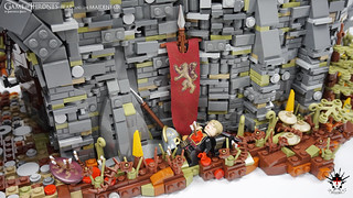 Game of Thrones - Bear and the Maiden Fair - by Barthezz Brick 19