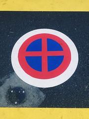 (nic0v0dka) Tags: sign road street paint color colour couleur rue via calle strada lane interdit urban urbain