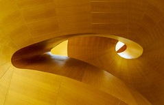 Allen Slaight and Emmanuelle Gatuso Staircase (jtgfoto) Tags: approved wood staircase stairs curves architecture architecturephotography architecturalphotography building museum artgalleryofontario toronto ontario canada sonyalpha sonyimages lookup douglasfir frankgehry iconic bends