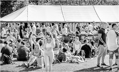 Whit Weekend , Barnard Castle , 2018 . (wayman2011) Tags: fujifilm1650f35f56 lightroomfujifilmxt10 wayman2011 bw mono rural people candid pennines dales teesdale barnardcastle countydurham uk