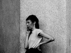 P1050830 urban portrait ! (gpaolini50) Tags: emotive esplora explore explored emozioni explora emotion eventi emotivestreet city cityscape biancoenero bw bianconero blackandwhite