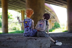 city hike (niebieski_kot) Tags: ranmaru rosengarden rui iosbody dollegendhands jasiek ringdollhands youpladolls zenji