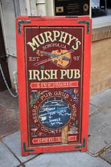 Murphy's Irish Pub (JB by the Sea) Tags: sonoma sonomacounty california winecountry sonomavalley may2018 sonomaplaza sign