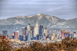 L.A. Skyline on a Clear Day