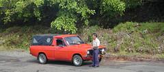 Man and his pickup truck (D70) Tags: man his pickup truck olympus c2100uz ƒ28 157mm 1400 100