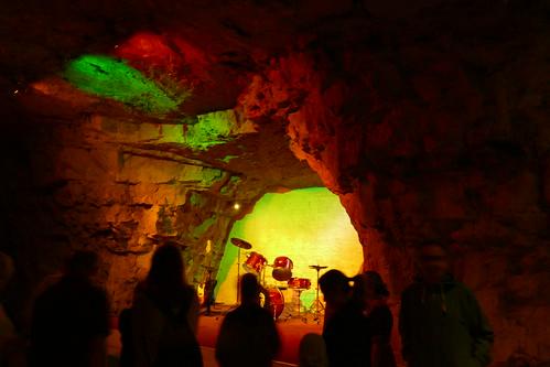 Chislehurst Caves Stage
