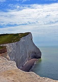 Seaford's spectacular cliffs