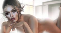 J'veux du Soleil.. (ℜØSE Siabonne) Tags: session pose sl bento ears elise lelutka skin nrj mesh