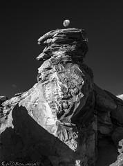 Árbol de Piedra (Bill Bowman) Tags: árboldepiedra altiplano bolivia moonset erosion