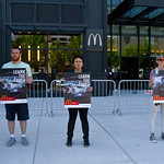 Protesting McDonald's Animal Cruelty Practices Outside Hamburger University West Randolph Street Chicago Illinois 5-24-18  1552 thumbnail